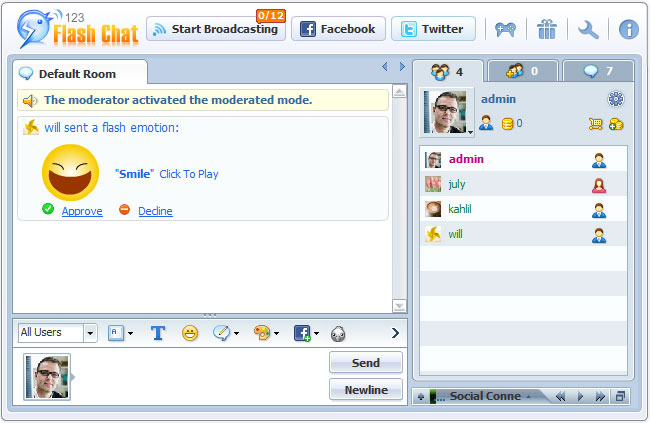 History Of Im Chat Rooms